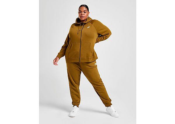 Nike Essential Plus Size Joggingbroek Dames - Olive Flak/White - Dames