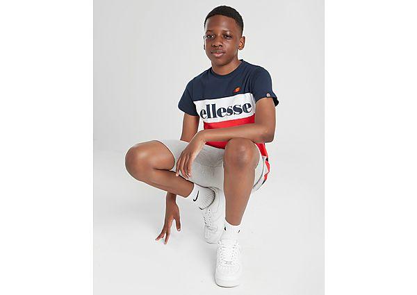 Comprar Ropa deportiva para niños online Ellesse camiseta Colour Block Logo júnior