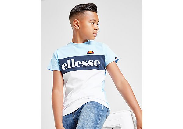 Ellesse Colour Block Logo T-Shirt Junior - Kind