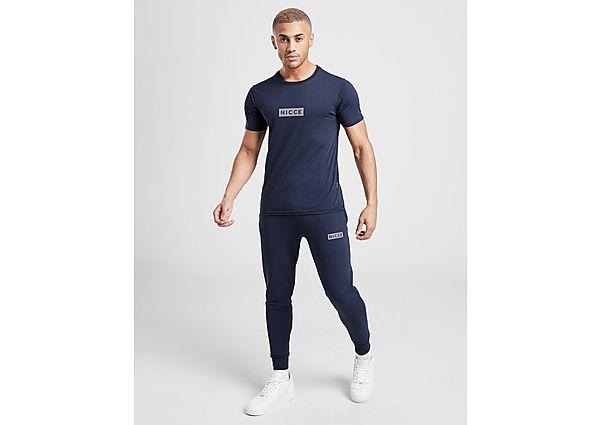 Nicce pantalón de chándal Base Reflective Logo, Blue