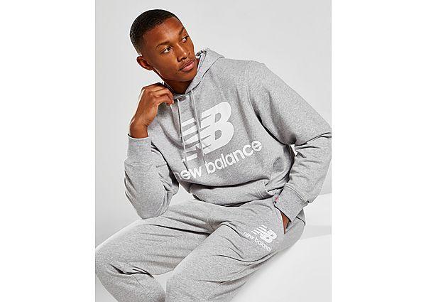New Balance sudadera con capucha Core, Grey/White
