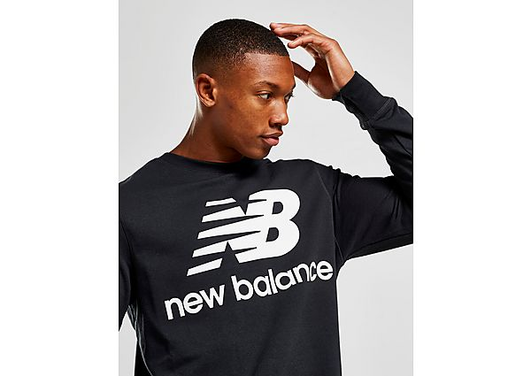 New Balance sudadera Core, Black/White