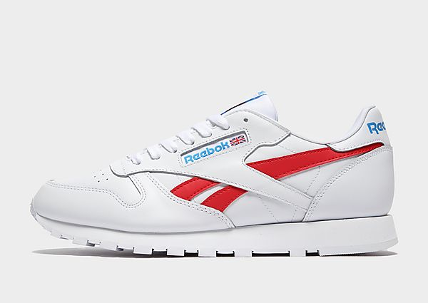 Reebok Classic Leather, White/Red