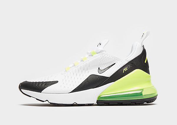 Nike Air Max 270 Junior - White/Volt/Black - Kind, White/Volt/Black