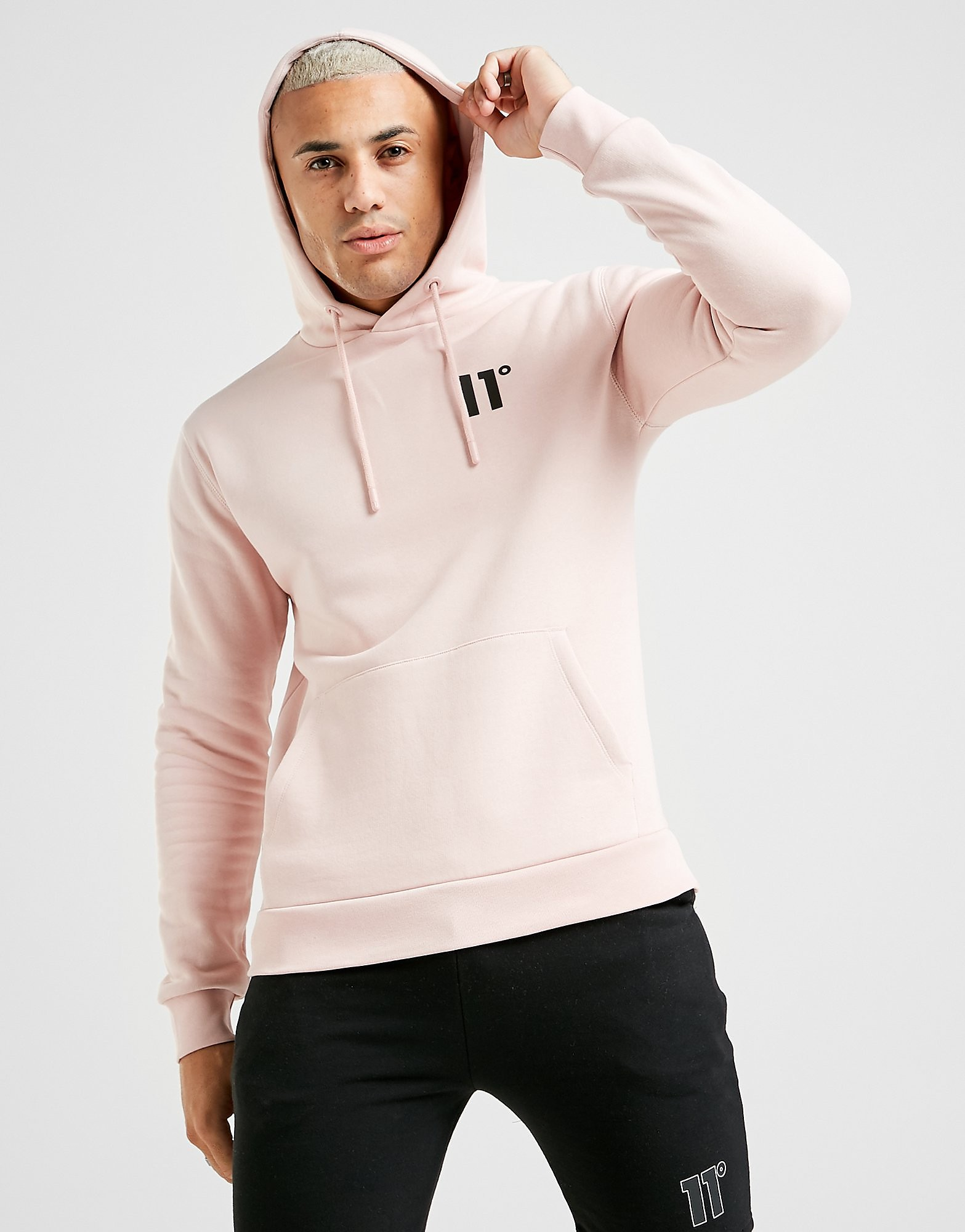 11 degrees core hoodie herr - only at jd, rosa