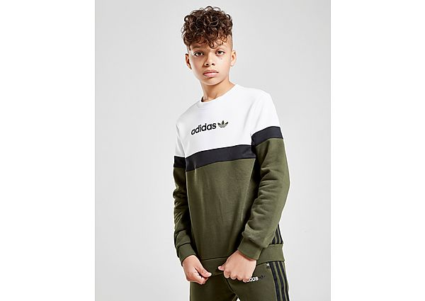 Adidas Originals Challenger Colour Block Crew Sweater Junior - Kind