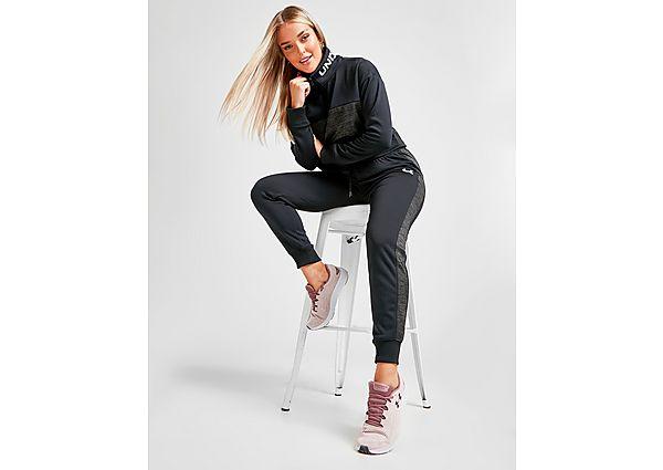 Ropa deportiva Mujer Under Armour pantalón de chándal Fleece Twist, Black/Grey