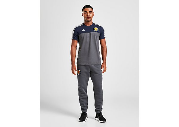 adidas Scotland 3-Stripe Track Pants, Grey/White