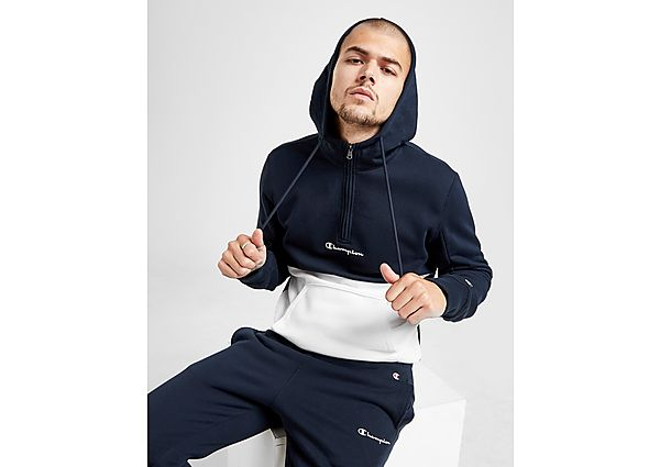 Champion Colour Block 1/2 Zip Hoodie Heren - Heren