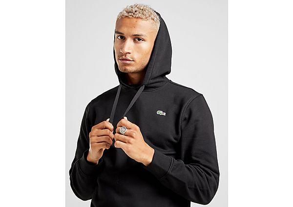 Lacoste sudadera con capucha Core, Black