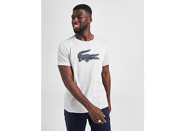 Lacoste camiseta Large Croc Logo, Grey/Navy