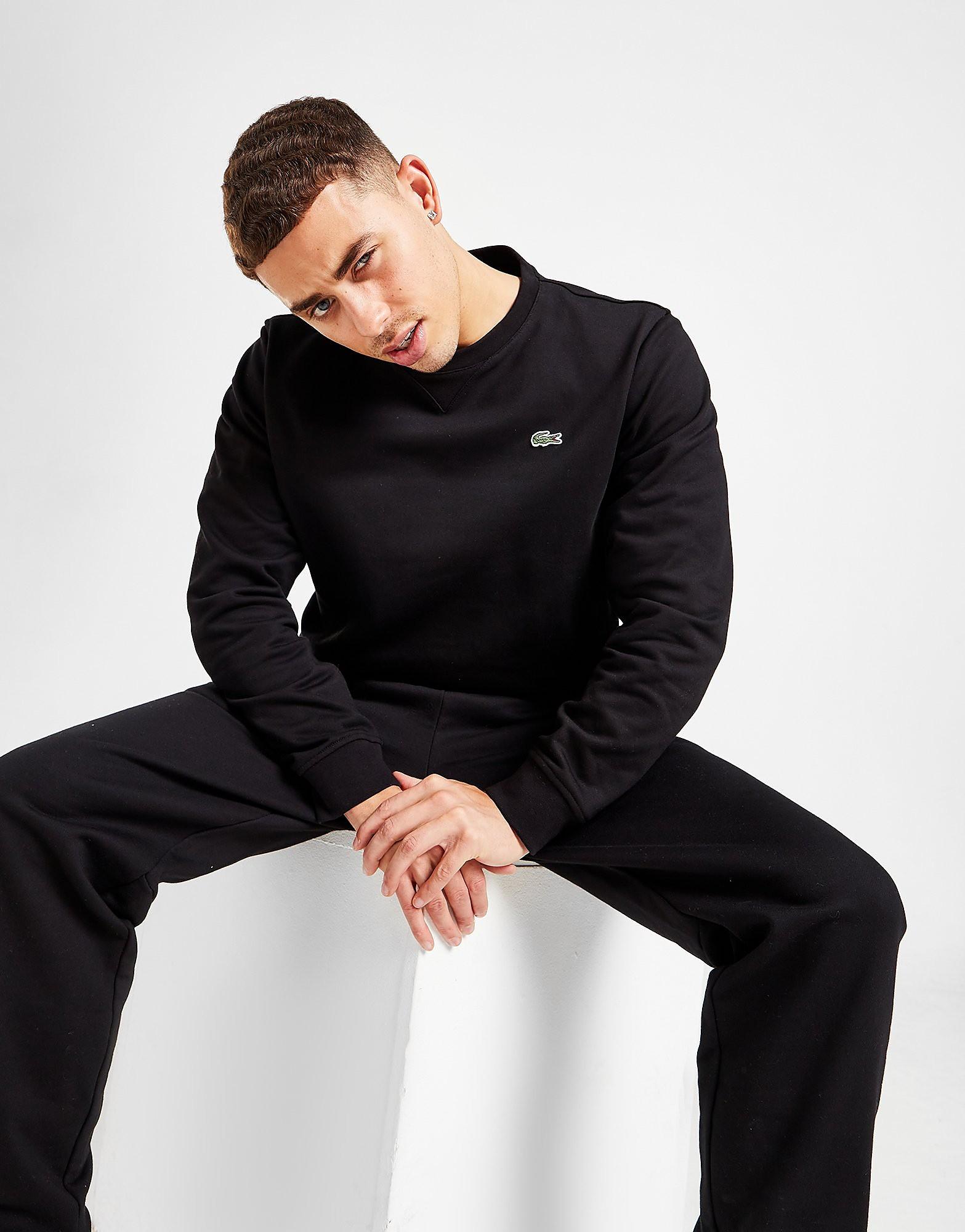 Lacoste Core Crew Sweatshirt Herr, Svart