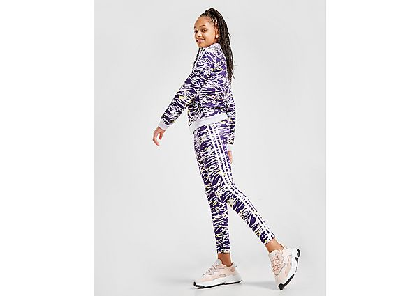 Adidas Originals Girls' All Over Print Leggings Junior - Kind
