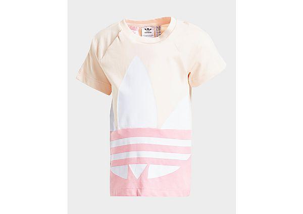 Adidas Originals Meisjes Large Trefoil T-Shirt Baby's - Kind