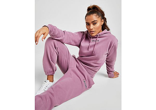 Ropa deportiva Mujer Champion Embroidered Logo Wash Hoodie