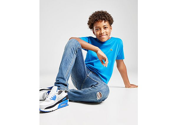 Comprar Ropa deportiva para niños online Lacoste camiseta Small Logo  júnior, Blue