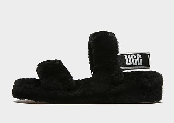 UGG chanclas Oh Yeah para mujer, Black