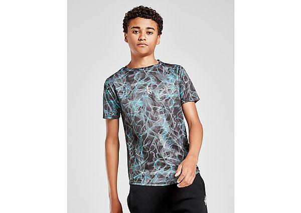 Sonneti Logan T-Shirt Junior - Black/Blue/White - Kind