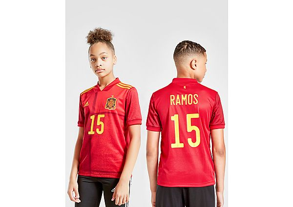 adidas camiseta Spain 2020 Ramos #15 1.ª equipación júnior, Red