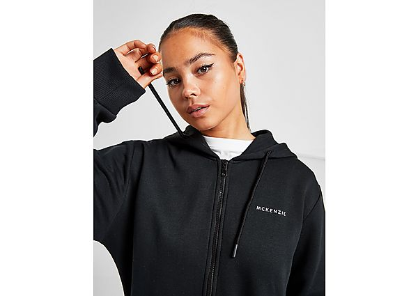 Ropa deportiva Mujer McKenzie chaqueta con capucha Essential Boyfriend, Black