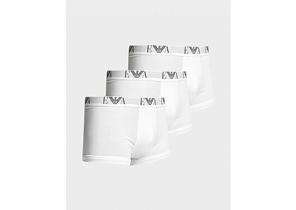 Calzoncillos Deportivos Emporio Armani Loungewear pack de 3 boxers, White