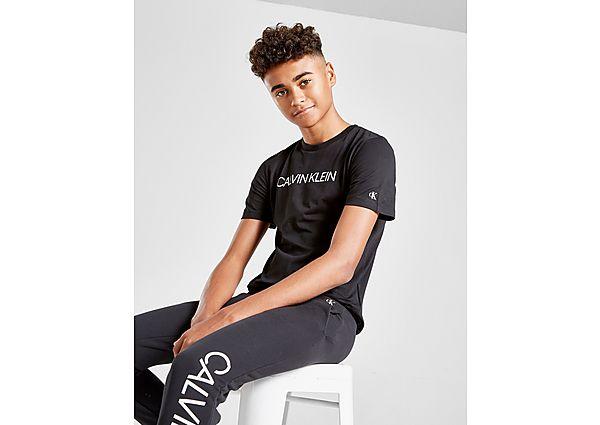Comprar Ropa deportiva para niños online Calvin Klein camiseta Jeans Institutional Logo júnior, Black