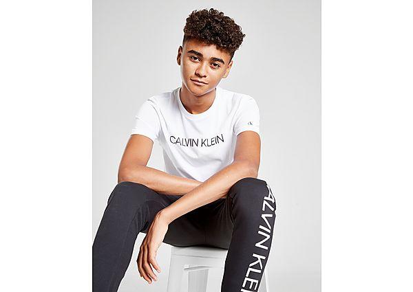 Comprar Ropa deportiva para niños online Calvin Klein camiseta Jeans Institutional Logo júnior, White