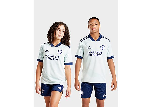 adidas Cardiff City FC 2020/21 Away Shirt Junior
