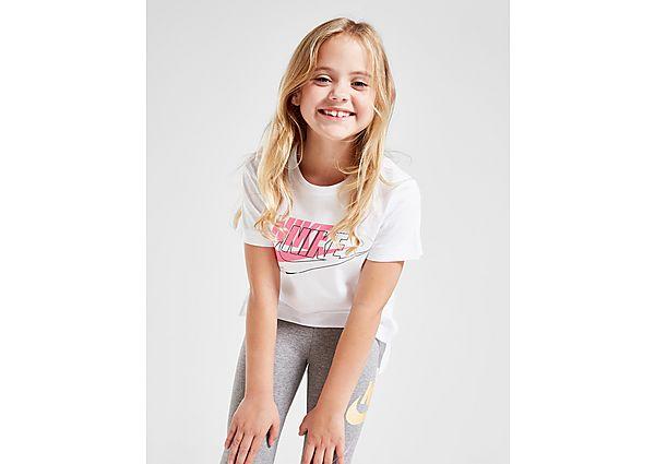 Nike Girls' Double Futura T-Shirt Children - Kind