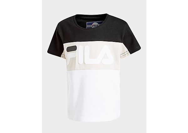 Fila Wildvine T-Shirt Infant - Black/Beige/White - Kind