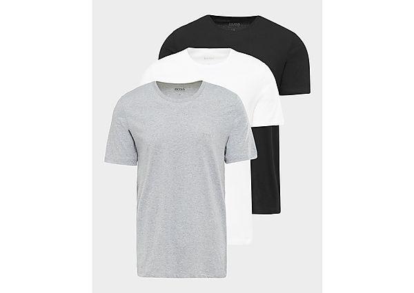 BOSS T Shirt 3 Pack Heren Grey Heren, Grey