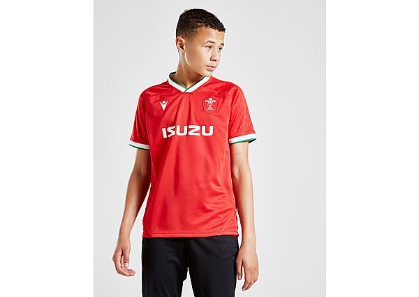 Macron Wales RU 2020/21 Home Replica Shirt Junior