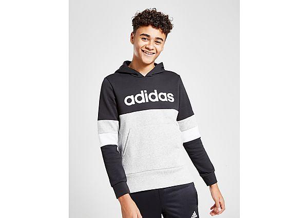 Adidas Linear Colour Block Hoodie Junior - Kind