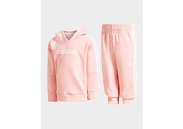 Adidas Girls' Core Overhead Tracksuit Infant  - Pink - Kind