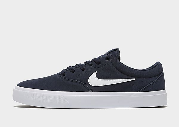 Nike SB Charge Suede - Navy/White - Heren