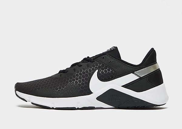 Nike Legend Essential 2, Black/Metallic Silver/White