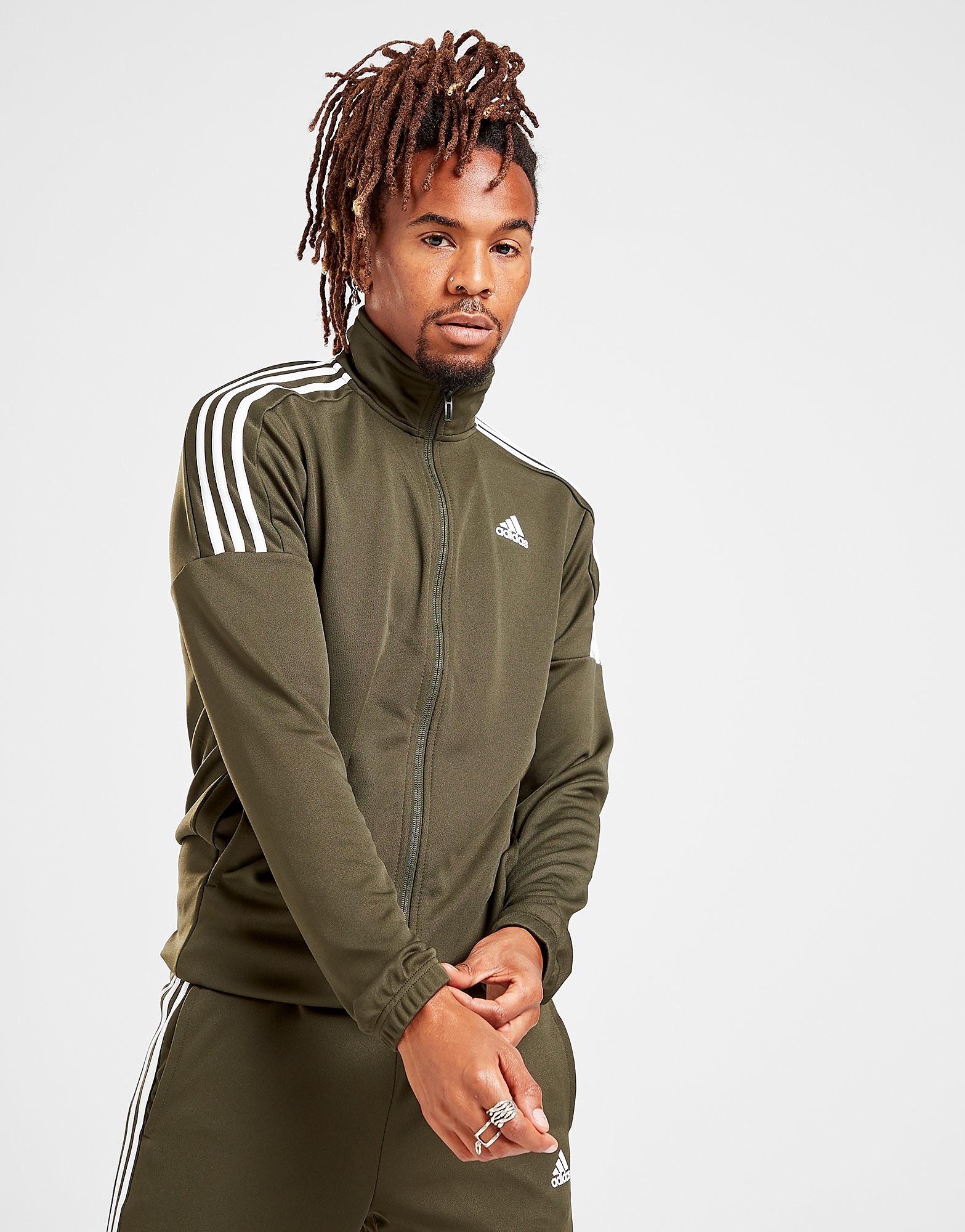 adidas 3 Stripes Poly Track Top