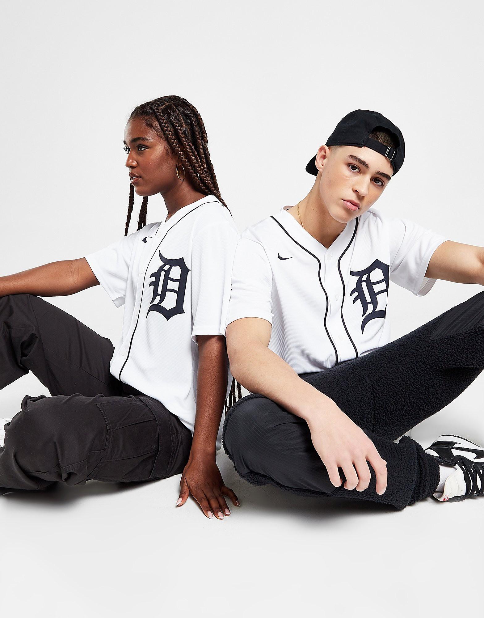Nike MLB Detroit Tigers Home Jersey, Vit