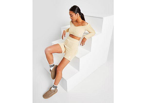 Calzoncillos Deportivos adidas Originals 3-Stripes Boucle Knit Shorts