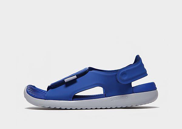 Comprar deportivas Nike chanclas Sunray Adjust júnior, Blue/White
