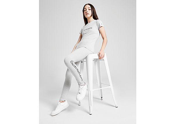 Comprar Ropa deportiva para niños online Calvin Klein Girls' Institutional Logo Slim T-Shirt Junior