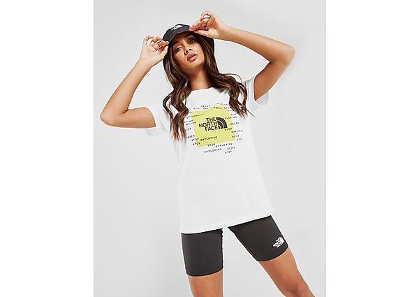 Ropa deportiva Mujer The North Face camiseta Message