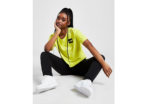 Ropa deportiva Mujer The North Face camiseta Crop Box Logo