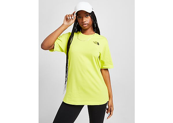 Ropa deportiva Mujer The North Face camiseta Simple Dome Boyfriend