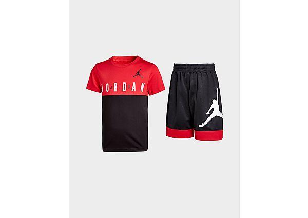 Comprar Ropa deportiva para niños online Jordan conjunto camiseta/pantalón corto Jumpman Air infantil