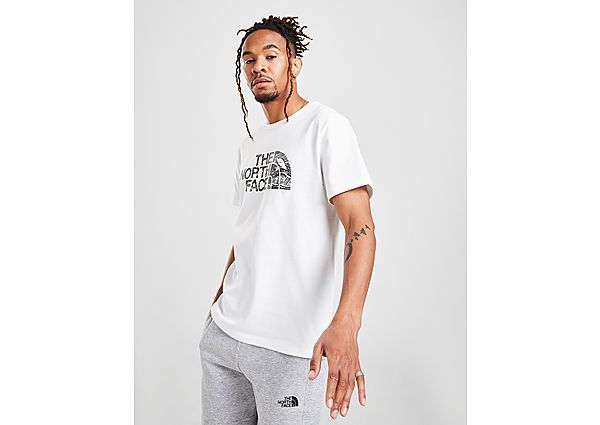 The North Face camiseta Camo Front