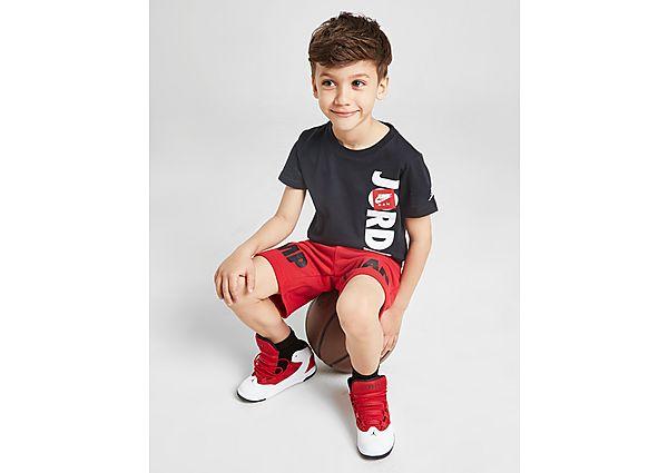 Comprar Ropa deportiva para niños online Jordan conjunto camiseta/pantalón corto Jumpman infantil