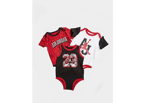 Comprar Ropa deportiva para niños online Jordan pack de 3 bodies Air para bebé