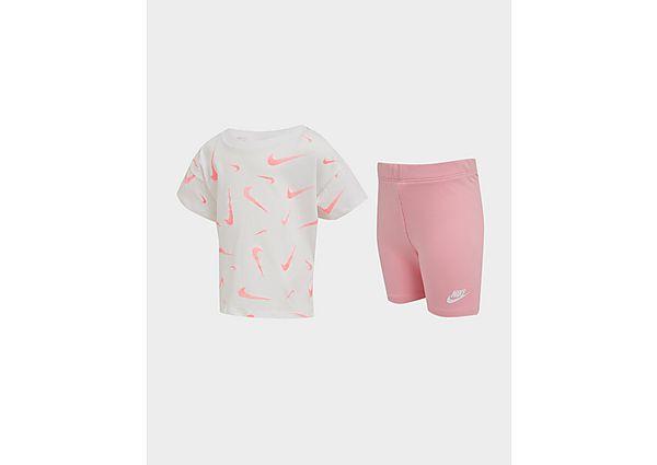 Comprar Ropa deportiva para niños online Nike camiseta/mallas cortas Swoosh conjunto para bebé