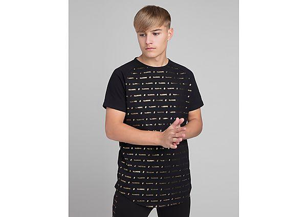 Comprar Ropa deportiva para niños online ILLUSIVE LONDON Black Gold T-Shirt Junior